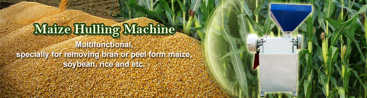 Maize Hulling Machine